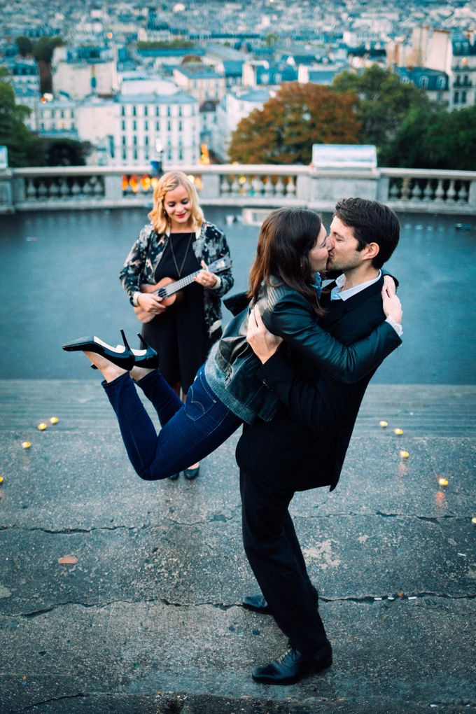 Proposal in Paris by Proposal & Elopement in Paris - 002