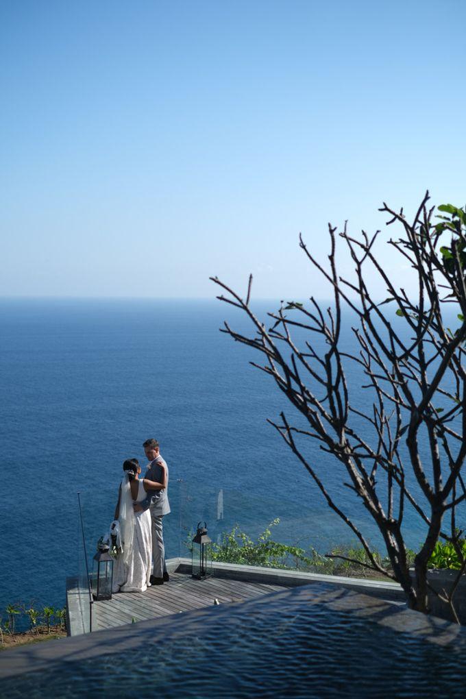 Maria and Frans Wedding by Six Senses Uluwatu, Bali - 001