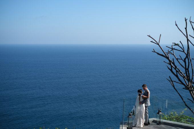 Maria and Frans Wedding by Six Senses Uluwatu, Bali - 002
