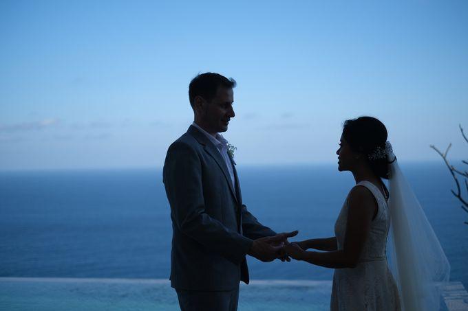 Maria and Frans Wedding by Six Senses Uluwatu, Bali - 003
