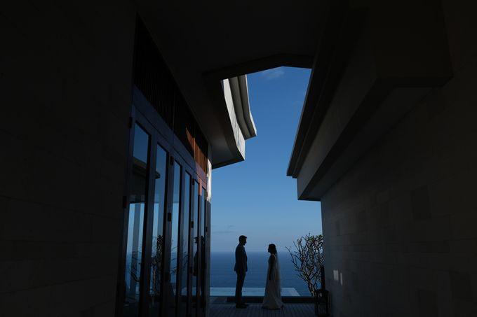 Maria and Frans Wedding by Six Senses Uluwatu, Bali - 004