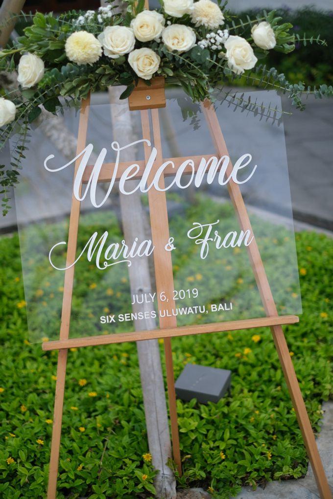Maria and Frans Wedding by Six Senses Uluwatu, Bali - 006