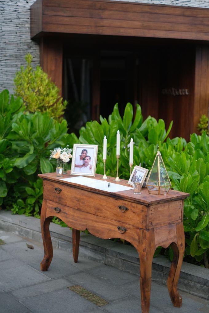 Maria and Frans Wedding by Six Senses Uluwatu, Bali - 008