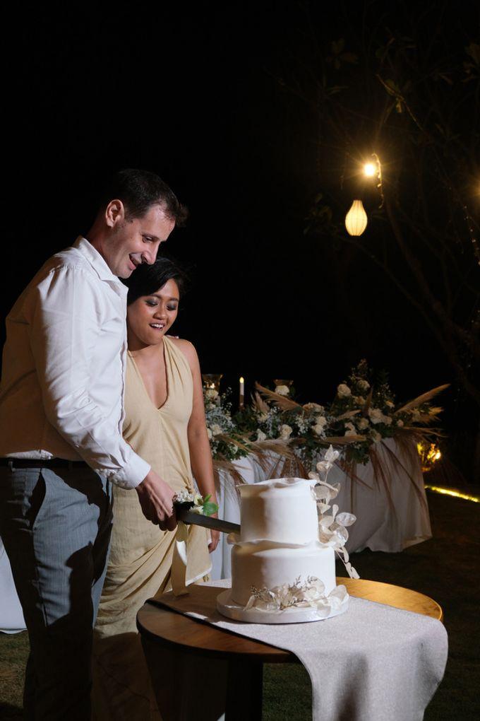 Maria and Frans Wedding by Six Senses Uluwatu, Bali - 028