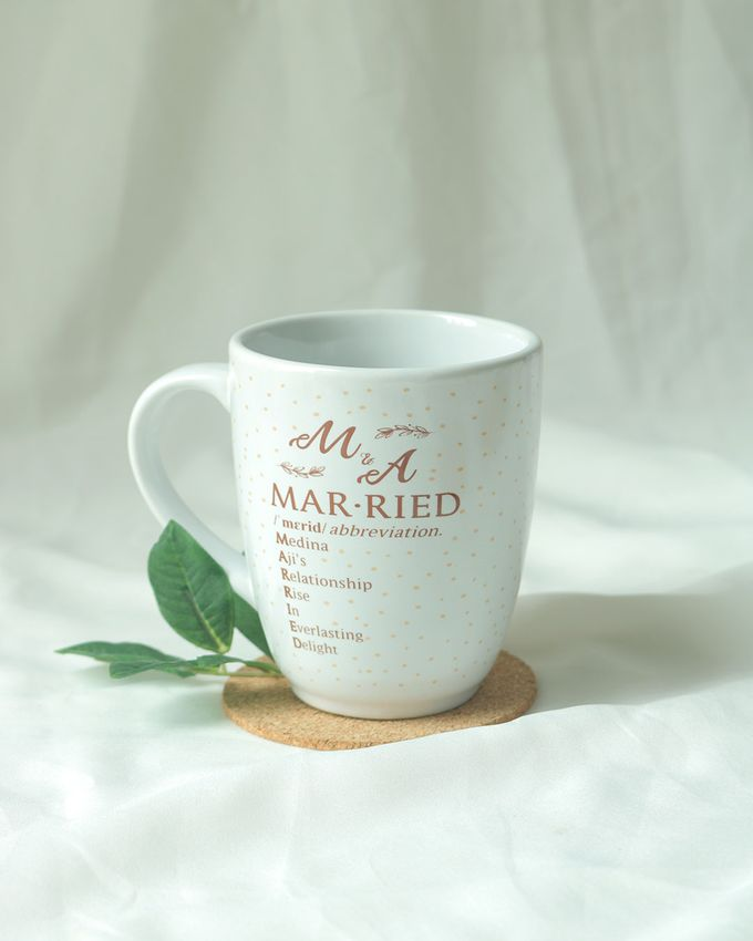 Souvenir Mug Corning by Mug-App Wedding Souvenir - 001