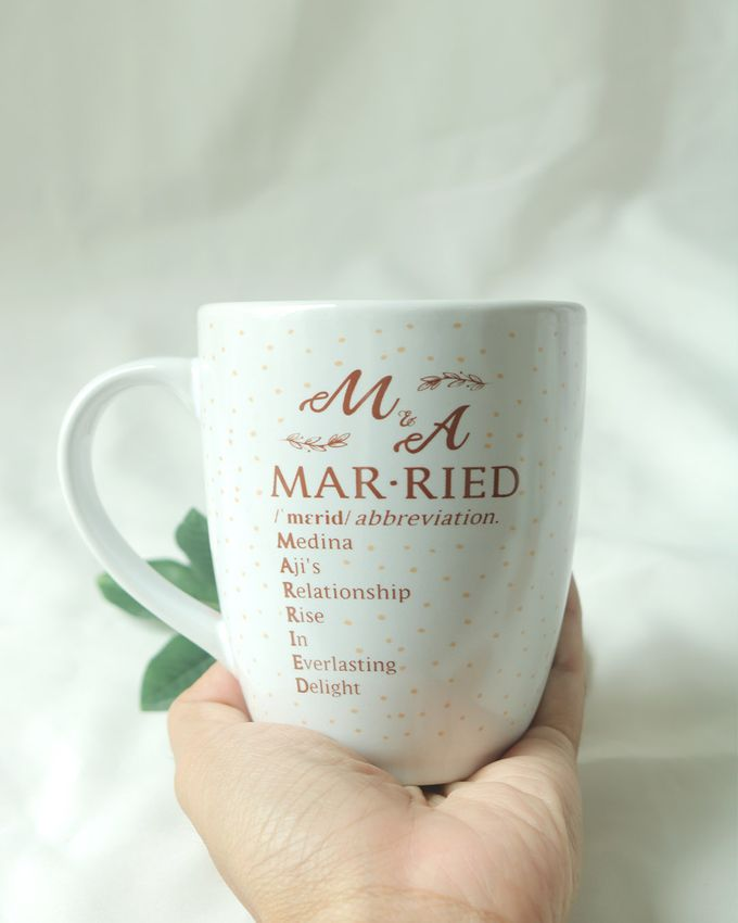 Souvenir Mug Corning by Mug-App Wedding Souvenir - 002