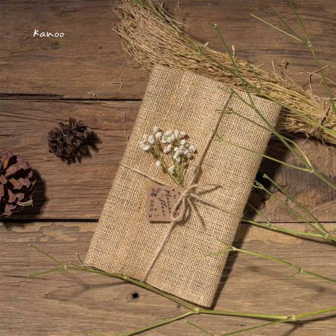 Wedding Invitation - Rustic Wooden by Kanoo Paper & Gift - 001