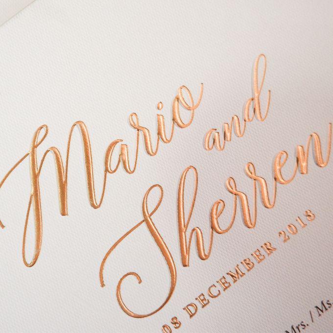 Mario & Sherren by Meltiq Invitation - 005