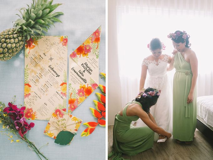 MARION & NINA TROPICAL WEDDING by First of April - 013