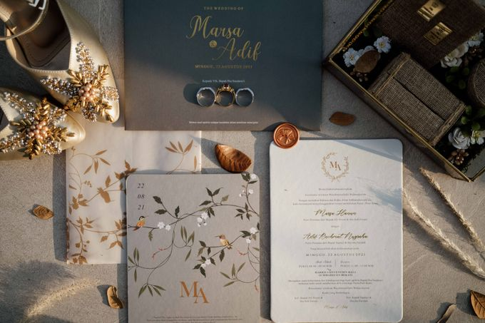 Marsa & Adif Wedding by AKSA Creative - 002