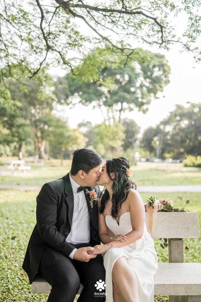 Martin Jnet Pre-Wedding | Strolling in a Park by Ducosky - 009