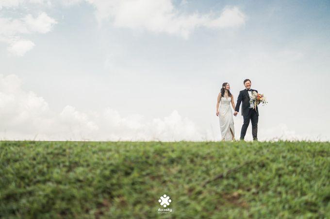 Martin Jnet Pre-Wedding | Strolling in a Park by Ducosky - 021