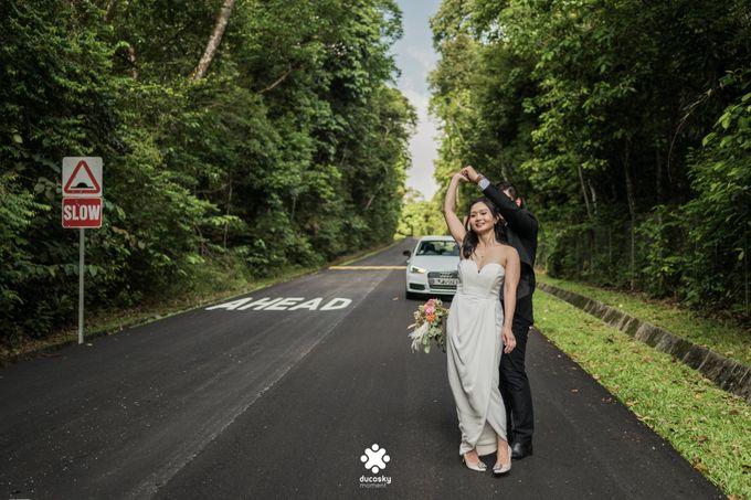 Martin Jnet Pre-Wedding | Strolling in a Park by Ducosky - 035