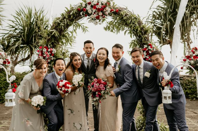Wedding Ceremony of David and Mary Nguyen by AKSA Creative - 001