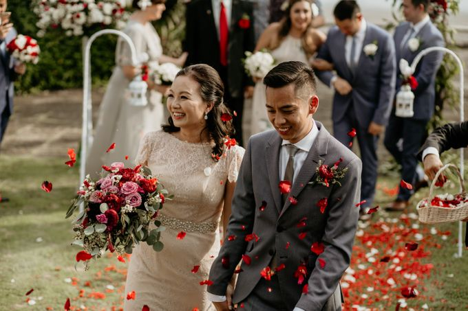 Wedding Ceremony of David and Mary Nguyen by AKSA Creative - 012