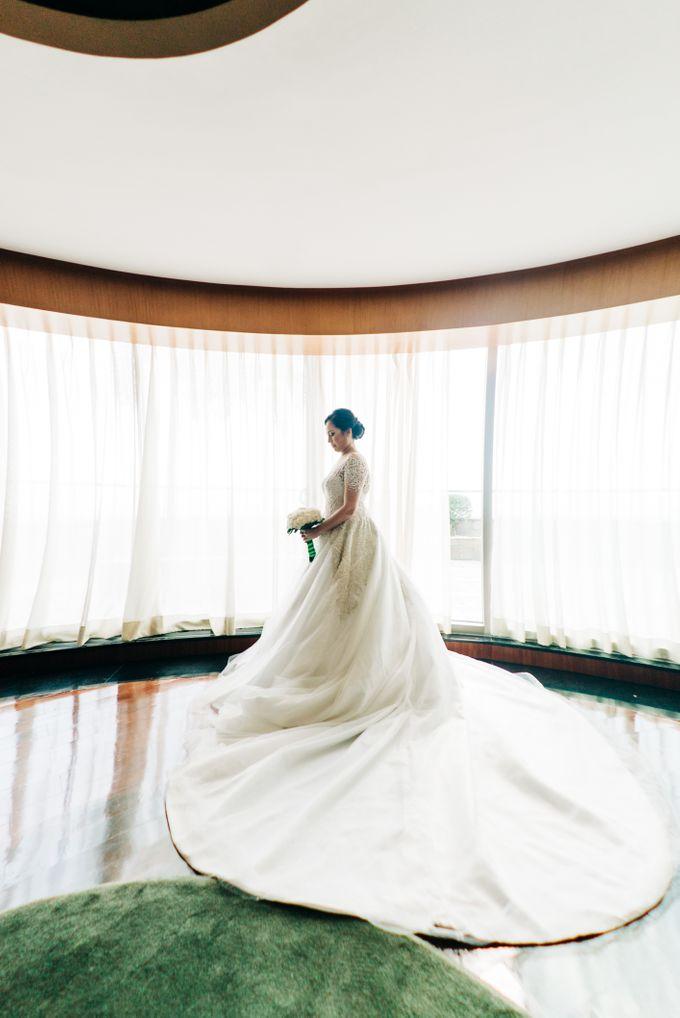Green Themed Wedding of Gari and  Mara by Peach Frost Studio - 027