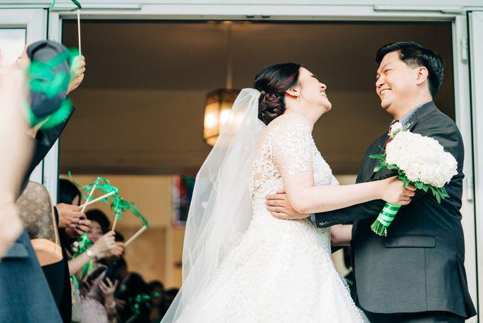 Green Themed Wedding of Gari and  Mara by Peach Frost Studio - 044