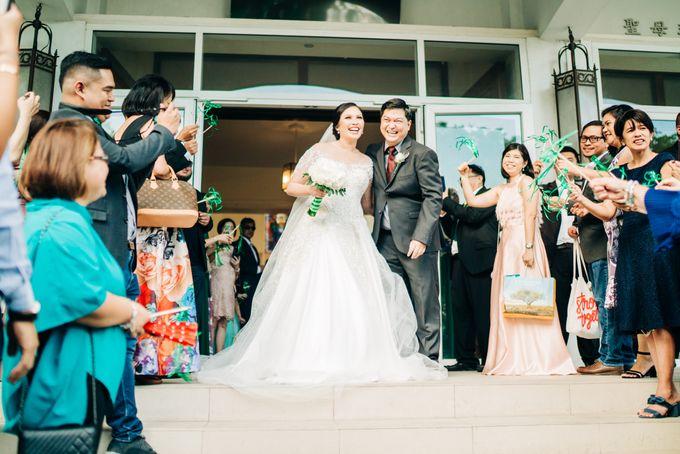 Green Themed Wedding of Gari and  Mara by Peach Frost Studio - 045