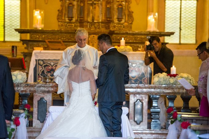 Wedding in Italy on the shores of lake Maggiore by Sogni Confettati - 019