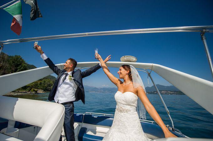 Wedding in Italy on the shores of lake Maggiore by Sogni Confettati - 026