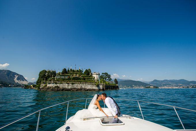 Wedding in Italy on the shores of lake Maggiore by Sogni Confettati - 028