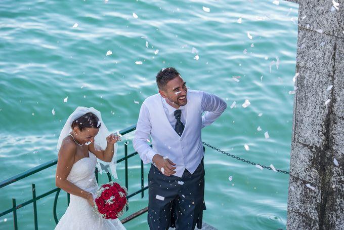 Wedding in Italy on the shores of lake Maggiore by Sogni Confettati - 030
