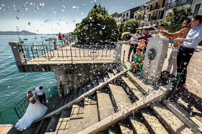 Wedding in Italy on the shores of lake Maggiore by Sogni Confettati - 031