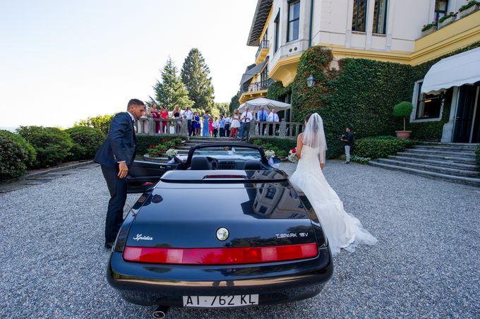 Wedding in Italy on the shores of lake Maggiore by Sogni Confettati - 048