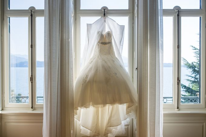 Wedding in Italy on the shores of lake Maggiore by Sogni Confettati - 002