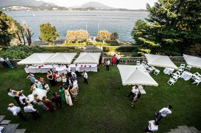 Wedding in Italy on the shores of lake Maggiore by Sogni Confettati - 037