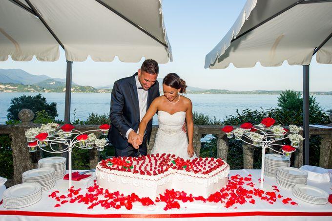 Wedding in Italy on the shores of lake Maggiore by Sogni Confettati - 040