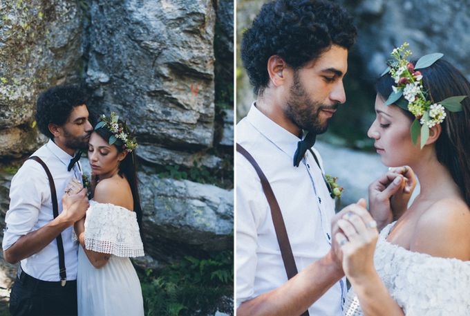 INTIMATE WOODLAND ELOPEMENT INSPIRATION by Sweetphotofactory - 017