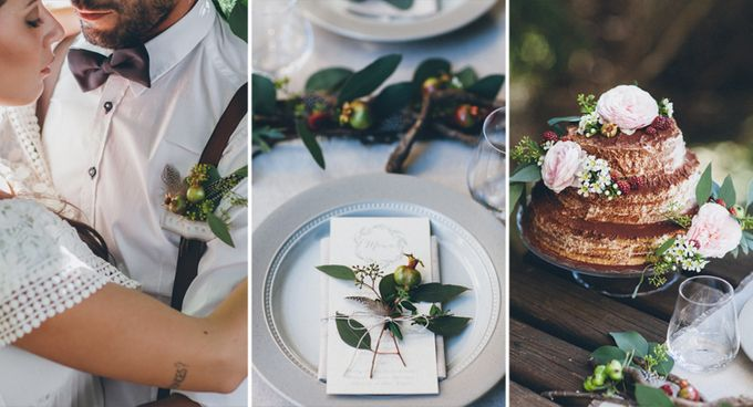INTIMATE WOODLAND ELOPEMENT INSPIRATION by Sweetphotofactory - 021