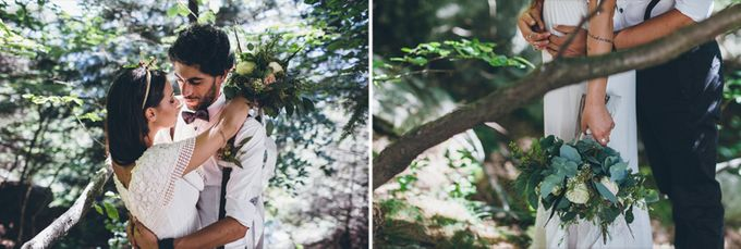 INTIMATE WOODLAND ELOPEMENT INSPIRATION by Sweetphotofactory - 004