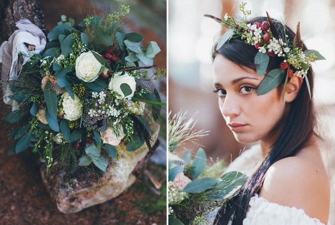 INTIMATE WOODLAND ELOPEMENT INSPIRATION by Sweetphotofactory - 008