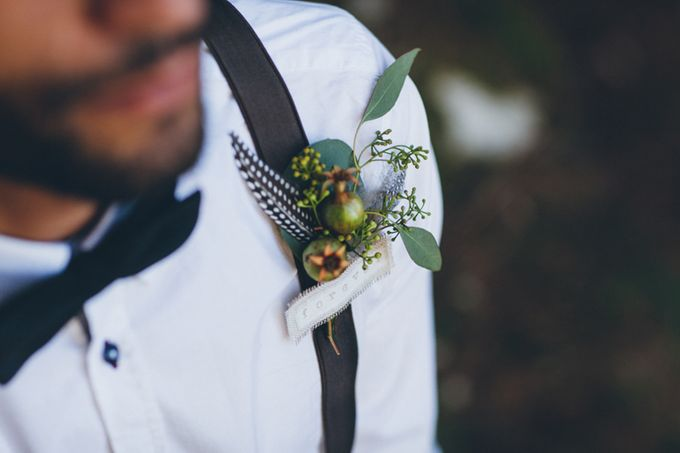 INTIMATE WOODLAND ELOPEMENT INSPIRATION by Sweetphotofactory - 009