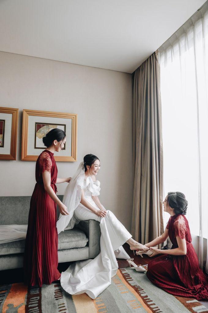 William & Selvi Wedding at Hilton Hotel by PRIDE Organizer - 039