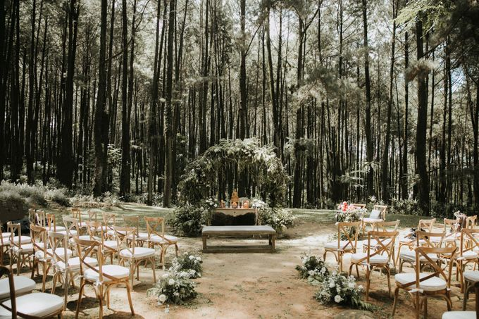 Alfred & Mega Wedding by Tea Rose Wedding Designer - 001