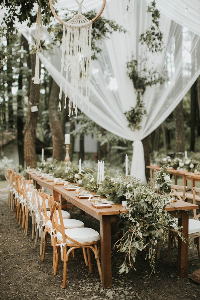 Alfred & Mega Wedding by Tea Rose Wedding Designer - 004