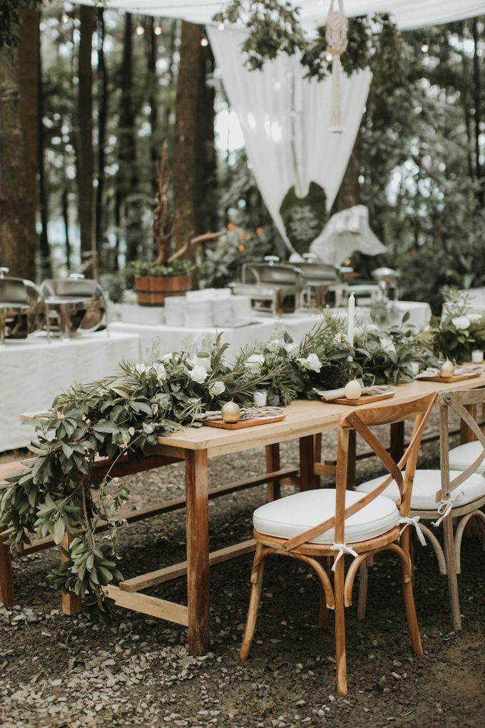 Alfred & Mega Wedding by Tea Rose Wedding Designer - 005