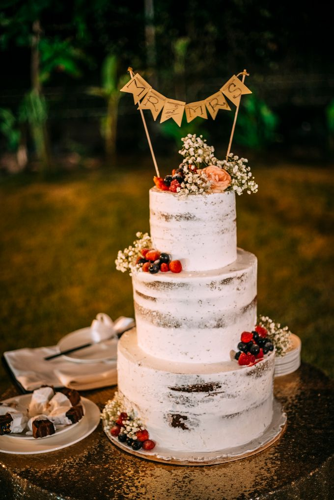 Sweet Rustic Wedding by Sugaria cake - 001
