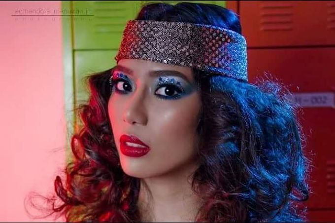 1970s Disco Theme Hair & Make Up by Gale Dy Make Up Artistry - 003