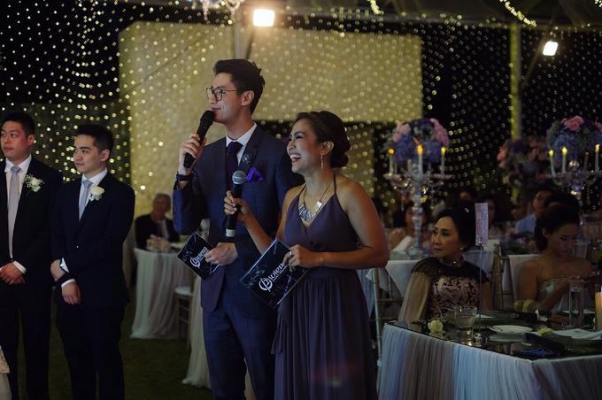 Wedding Reception of Michelle & Arif by MC Nirmala Trisna - 003
