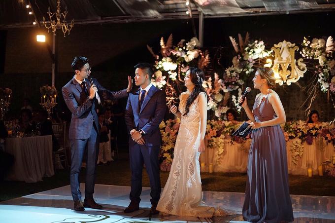 Wedding Reception of Michelle & Arif by MC Nirmala Trisna - 002