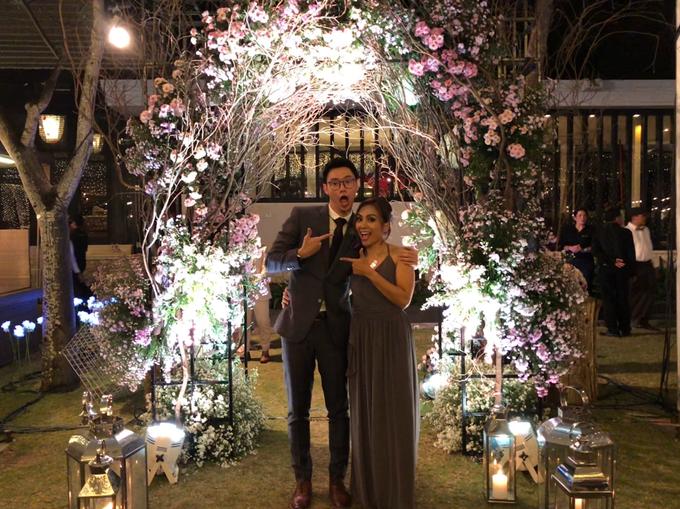 Wedding Reception of Michelle & Arif by MC Nirmala Trisna - 005