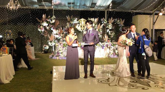 Wedding Reception of Michelle & Arif by MC Nirmala Trisna - 006