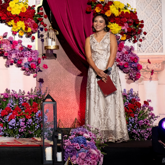 Indian-themed Wedding Reception of Hari & Chandra by MC Nirmala Trisna - 001