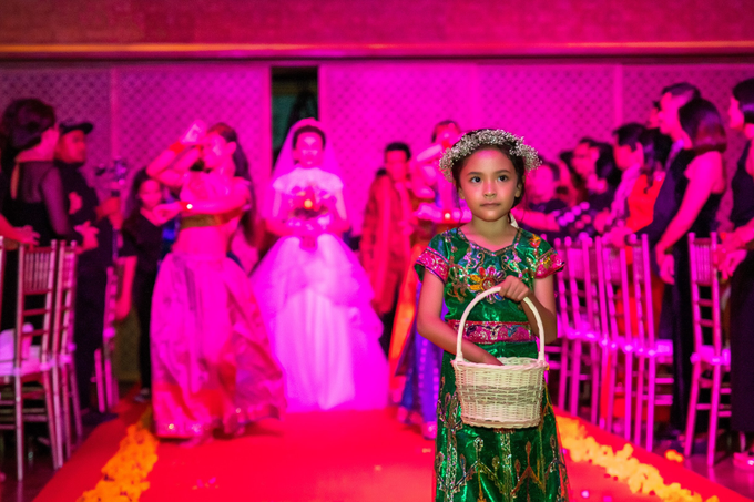 Indian-themed Wedding Reception of Hari & Chandra by MC Nirmala Trisna - 009