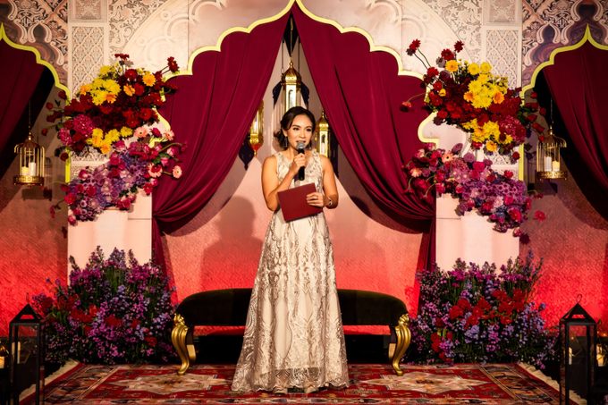 Indian-themed Wedding Reception of Hari & Chandra by MC Nirmala Trisna - 011