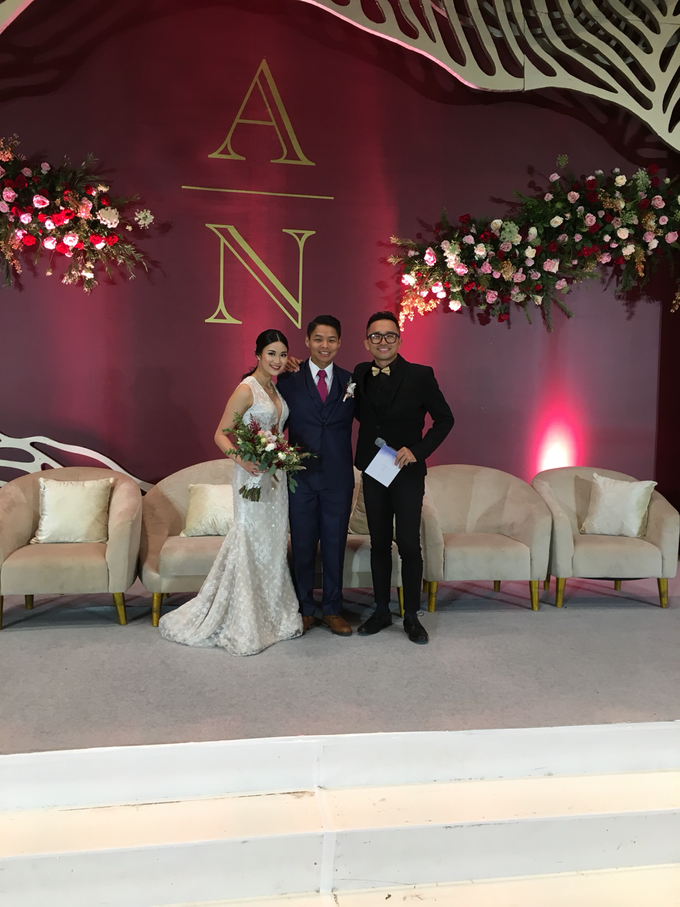 Wedding of Adrian & Nessia by MC Samuel Halim - 001